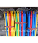 PVC coated wooden broom handle 46